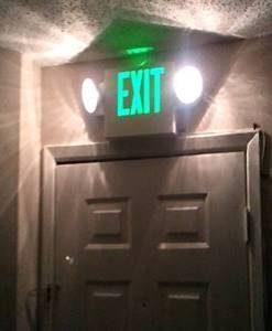 O. ไฟฉุกเฉิน, emergency light, ไฟฉุกเฉิน led