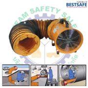 Portable safety Fan