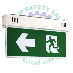 Standard emergency exit fire ceiling
