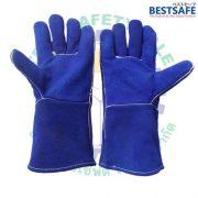 V10 leather glove