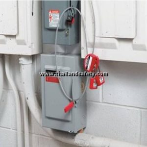 Wheel Cable lock safety