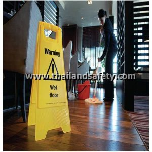 stand floor sign use