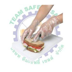 plastic glove use