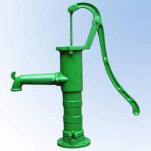 R. hand pump, ปั๊มมือหมุน